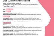 """Tumori femminili. Prevenzione e ricerca le chiavi di un """"Futuro in Rosa"""""""